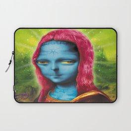 Blue Mona Laptop Sleeve