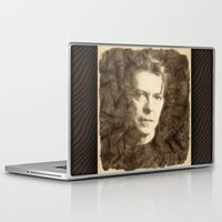 bowie Laptop & iPad Skins featuring Bowie by Little Bunny Sunshine