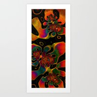 trippy Art Prints featuring Trippy by Amanda Moore