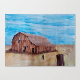 Old Iowa Barn Canvas Print