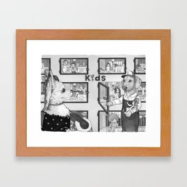 Pet Store Framed Art Print