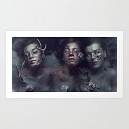 War Pestilence Death Art Print