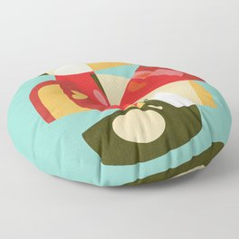 Apple Slices Floor Pillow