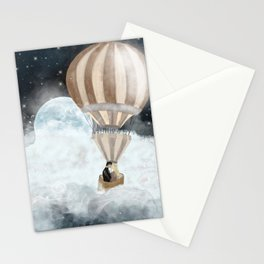 moonlight kisses Stationery Cards