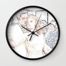 Evis - Viva Las Vegas Wall Clock