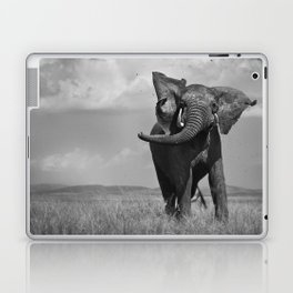 Elephant Throwing Dirt Laptop & iPad Skin