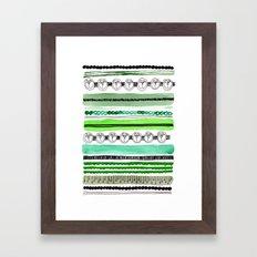 Pattern / Nr. 4 Framed Art Print