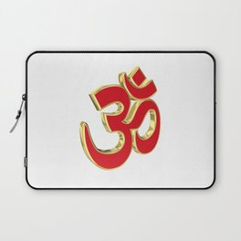 Om symbol Laptop Sleeve