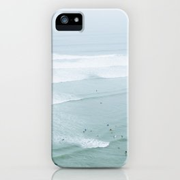 Tiny Surfers from the Sky 4, Lima, Peru iPhone Case