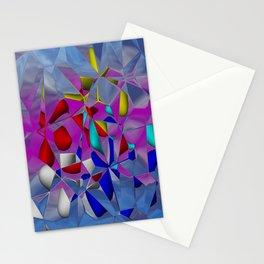 crackled -3- Stationery Cards