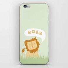 Roar! iPhone & iPod Skin
