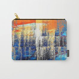 Golden Dawn, Abstract Landscape Art Carry-All Pouch