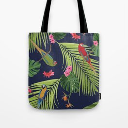 A Day Trip to the Belmont Estate #2, Parrot Paradise Tote Bag