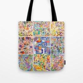 Shamanic Painting 1-9 Tote Bag