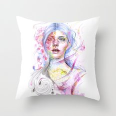 Every Word Will Shape Me Throw Pillow
