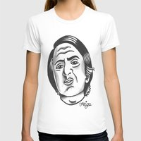 carl sagan T-shirts featuring Carl Sagan by @VEIGATATTOOER