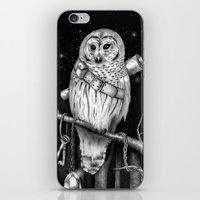 hedwig iPhone & iPod Skins featuring Hedwig by Tim Van Den Eynde