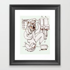 Sheep Obsession Framed Art Print