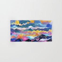 Montain Sunrise Hand & Bath Towel