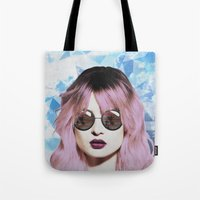 paradise Tote Bags featuring Paradise by BTP Designs