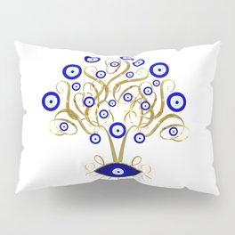 All Seeing Evil Eye Tree Pillow Sham