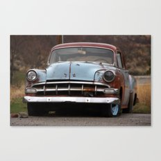 Rusty Car Canvas Print