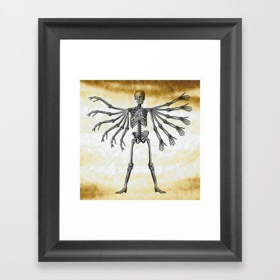12 arms to hug you Framed Art Print