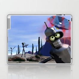 lost in middle of desert, looking for a f**ken Taxi Laptop & iPad Skin