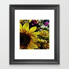 :: Come A Little Closer :: Framed Art Print