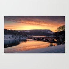 Dawn over Ashopton Canvas Print