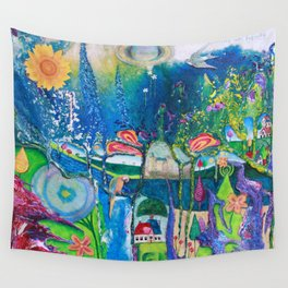Traveling Into Infinity Wall Tapestry