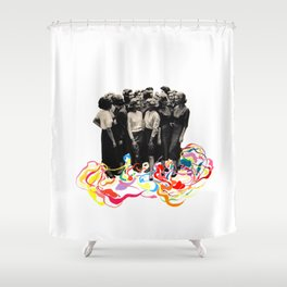 We are all cool though! Shower Curtain