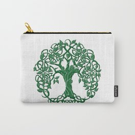 Tree of life green Carry-All Pouch