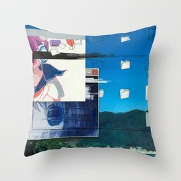 On The Desktop Throw Pillow