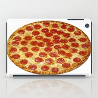 pizza iPad Cases featuring Pizza by I Love Decor