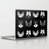 kittens Laptop & iPad Skins featuring Witchy Kittens by lOll3