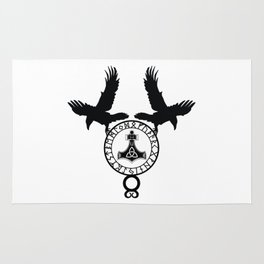 Norse Ravens - Mjolnir Rug