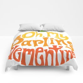 Oh, My Darling Clementine Comforters
