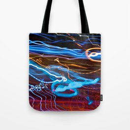 City (Light)s (Graffiti) 8 Tote Bag