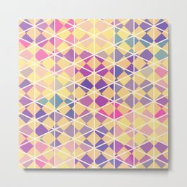 Purple indulgence pattern art Metal Print