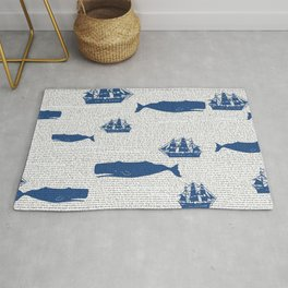 moby dick Rug