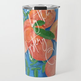 Peach Love Fruit - Call Me By Your Name Travel Mug