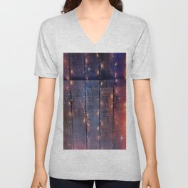 Whimsy and Rustic Unisex V-Neck