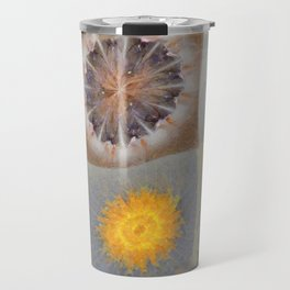 Sarcophagi Woof Flowers  ID:16165-112239-34720 Travel Mug