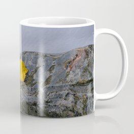 Yellow leaf Coffee Mug