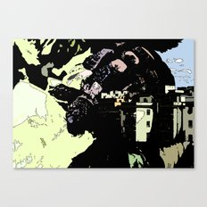 Revenge Of the Giant Canvas Print