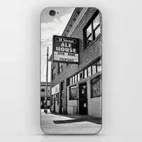 ale giorgini iPhone & iPod Skins featuring M Street Ale House by Vorona Photography