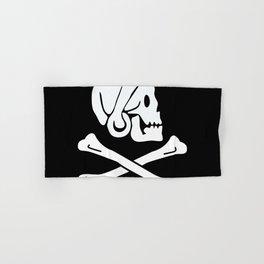 Henry Every Pirate Flag - Jolly Roger Skull Hand & Bath Towel