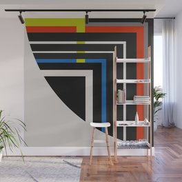 Abstract Composition 672 Wall Mural