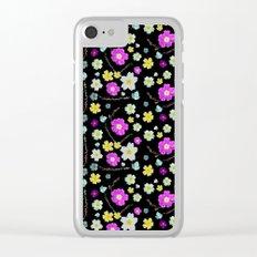 Candy Primrose Clear iPhone Case